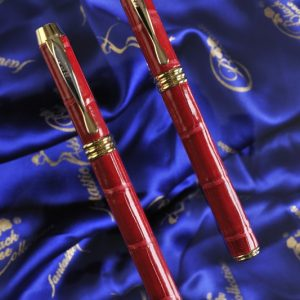 Luxury Pens Crocodile Red 2