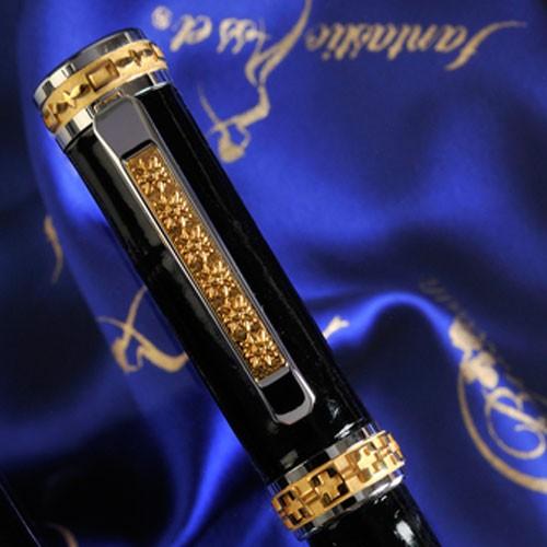 Luxury Pens black eagle lid