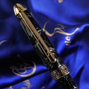 Luxury Pens blackbird close up