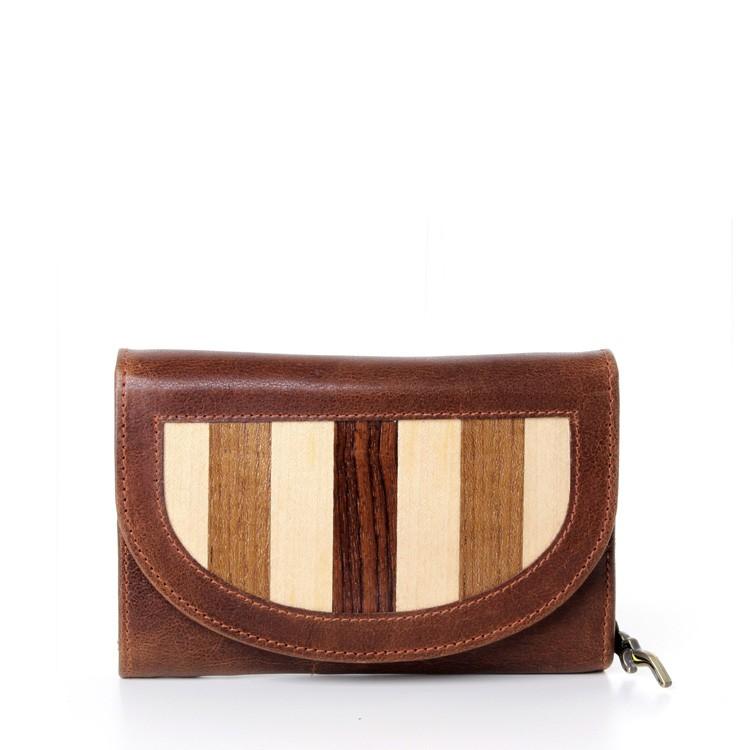 Leather Luxury Wallet Ladies side
