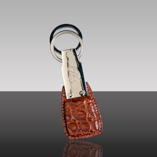 Zest Brown Keyring Side
