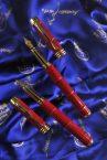 Luxury Pens Crocodile Red