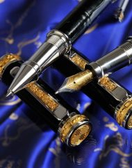 Luxury Pens black eagle nibs