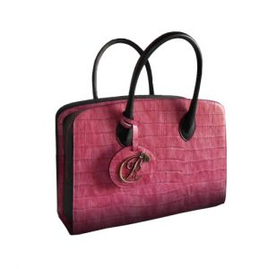 luxury leather bag Strauss
