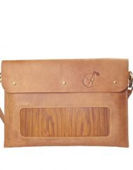 iPad Laptop carrier brown