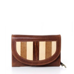 Leather Luxury Wallet Ladies side