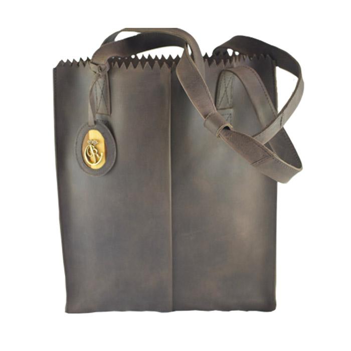 luxury leather bag Halle