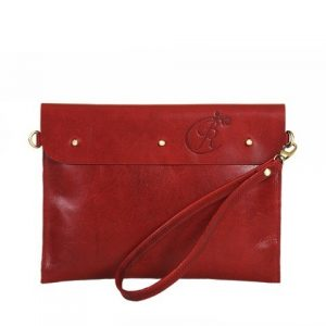 Louis Ipad Sleeve Red
