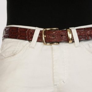 luxury leather belts ivory brass main