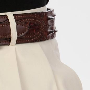 luxury leather belts jasper corner