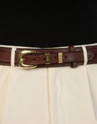 luxury leather belts jasper