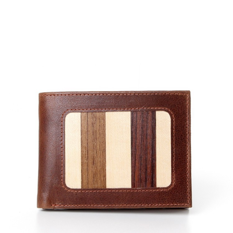 luxury leather wallet Louis V