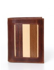 luxury leather wallet Louis VI