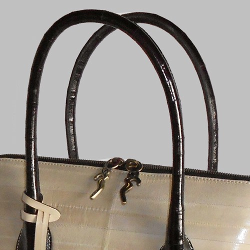 luxury leather bag Mahler Handles