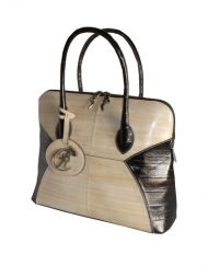 luxury leather bag Mahler