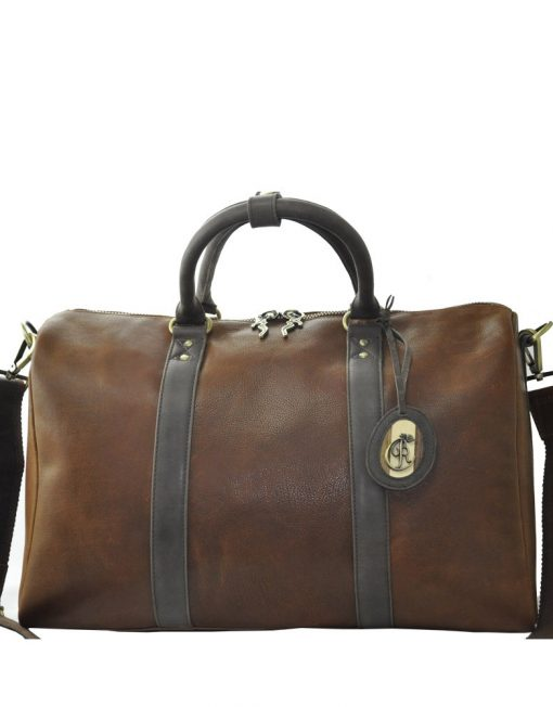 Luxury Leather Handbag Manon Front