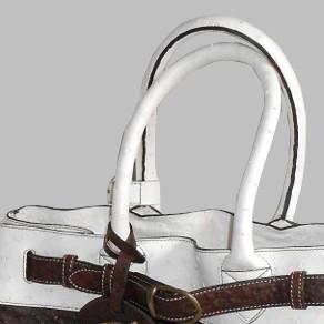 luxury leather bag Mozart Handles