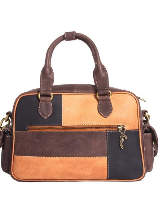 luxury leather bag polenc rear