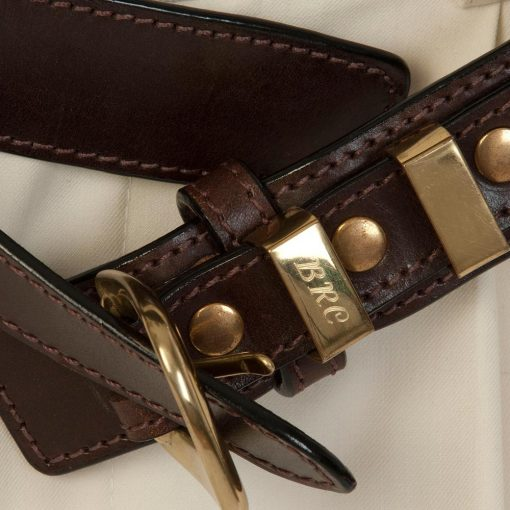luxury leather belts quartz close up