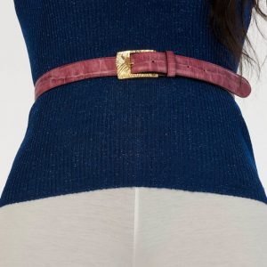 luxury leather belts ruby main