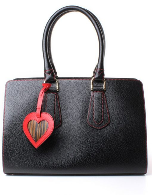 Leather Handbag schubert front