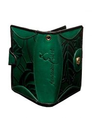 luxury leather purse Vivaldi Green