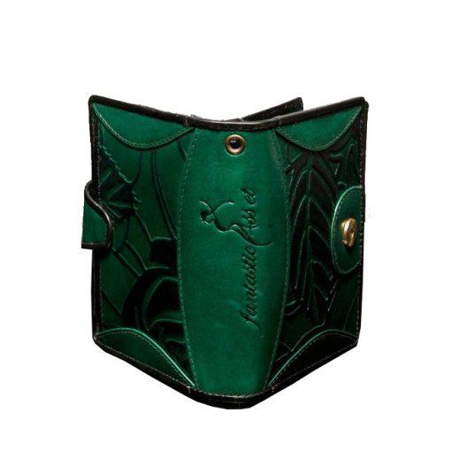 luxury leather purse Vivaldi Green