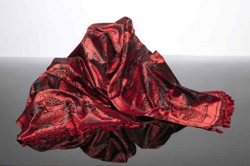 Vivaldi Summer Luxury Scarf Red
