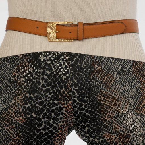 luxury leather belts zircon