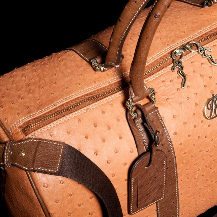 luxury leather bag paganini overhead